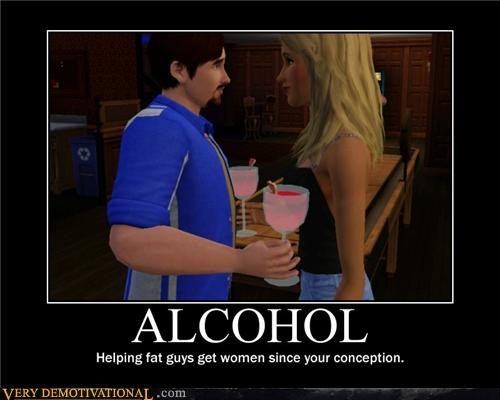booze drinks fat Sims - 4558388480