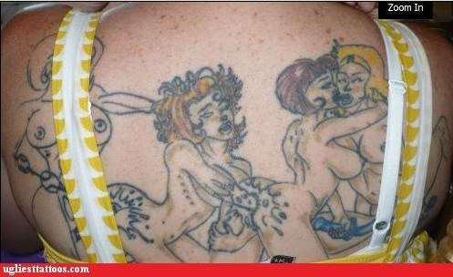 back pieces,boobies,gross,poor execution,sexual,sexy times