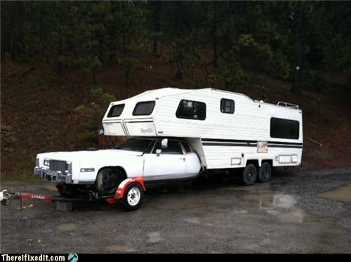 caddilac,cars,rv,towing,trucks