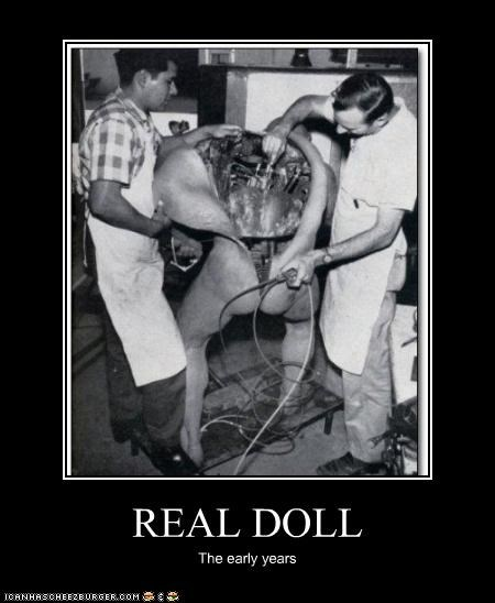 REAL DOLL The early years