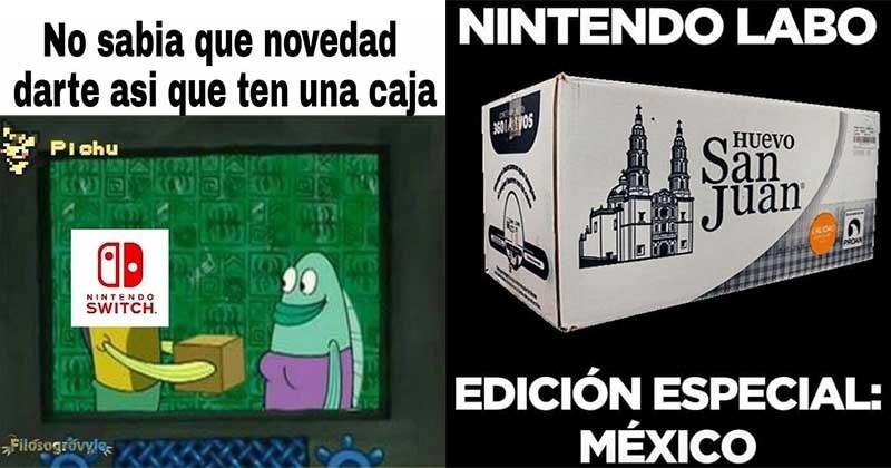 Nintendo Labo anuncio