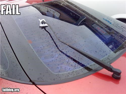 cars,DIY,failboat,g rated,windshield wiper