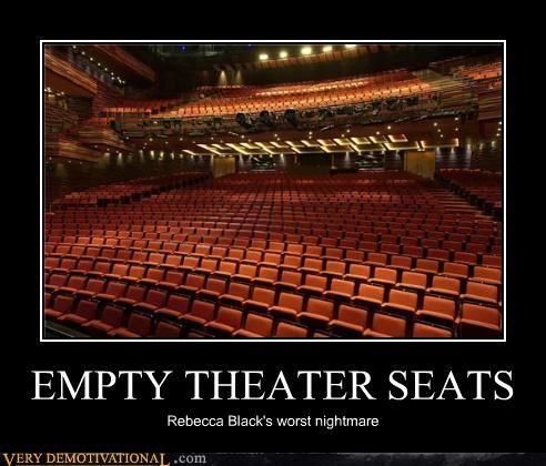nightmare Rebecca Black seats theater - 4559929088