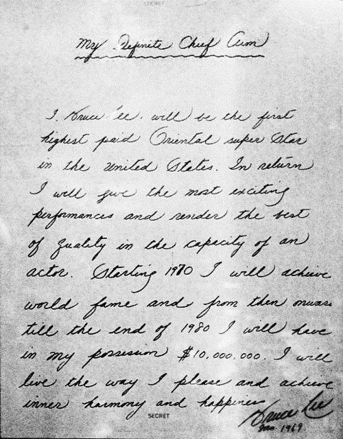 bruce lee,Letter Of Note,rip