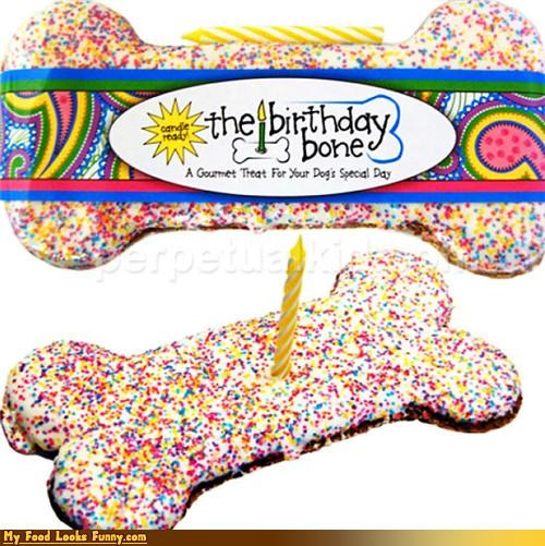 birthday bone candly cookies dogs treat - 4560434688