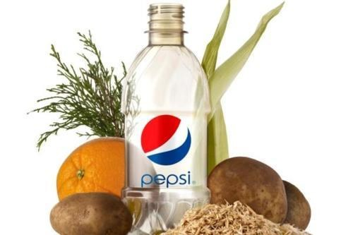 Green Initiative,PepsiCo,pet,Plant Bottles