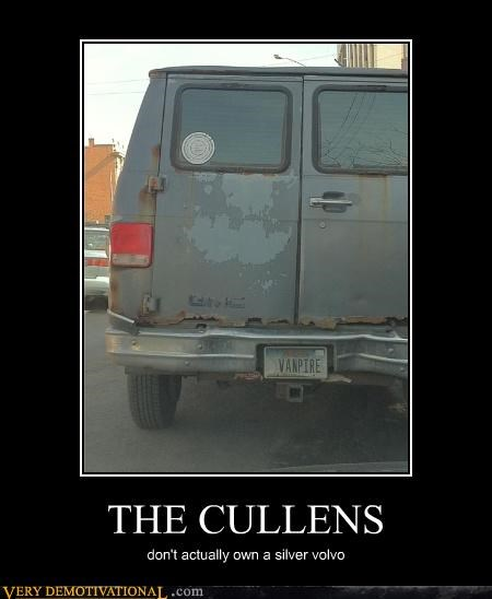 THE CULLENS don't actually own a silver volvo