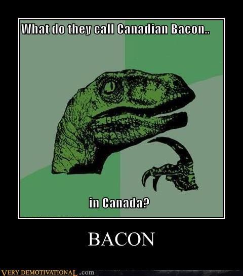bacon,Canada,philosoraptor