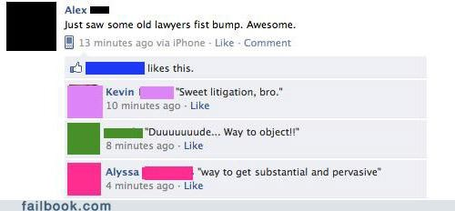 bro Lawyers witty reply