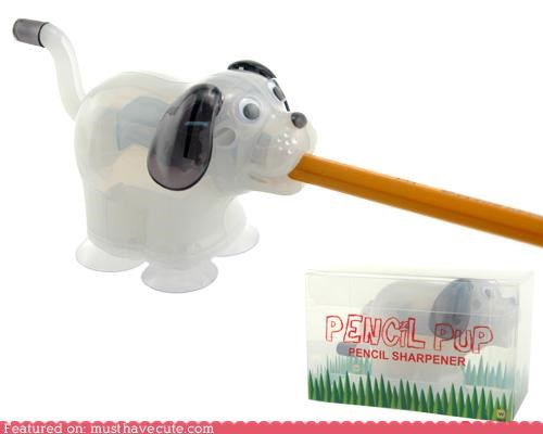 crank desk Office pencil pencil sharpener puppy - 4560610560