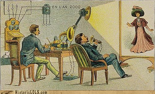 funny technology vintage future