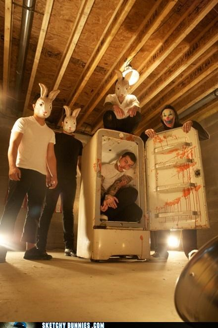 band photos are weird bands costume guitars Music Video - 4561496064