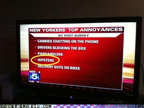 annoying cabbies hipsters new york panhandlers poll survey - 4561507072