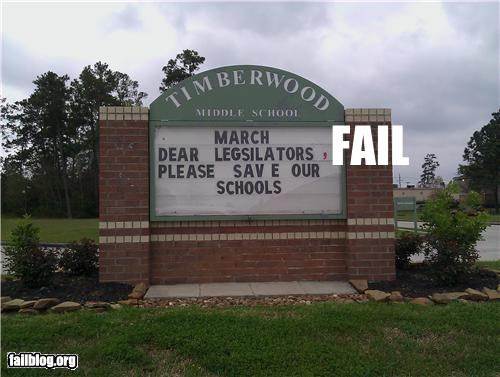 education failboat g rated marquee spelling - 4561533696