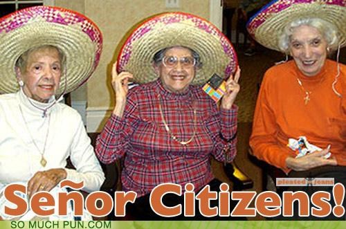 elderly epiphany gender issues old senior senor similar sounding sombreros spanish women