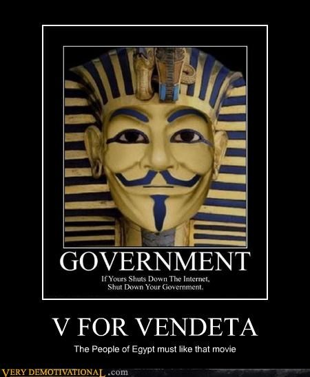 v for vendetta Movie egypt