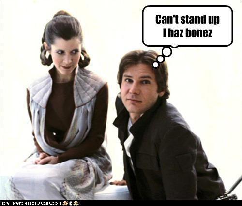 Can't stand up I haz bonez