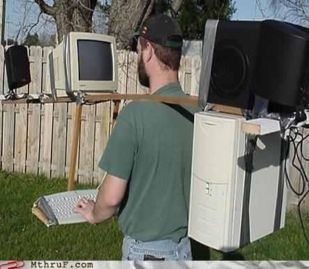 awesome computer DIY mobile monitor Office screen - 4563208960