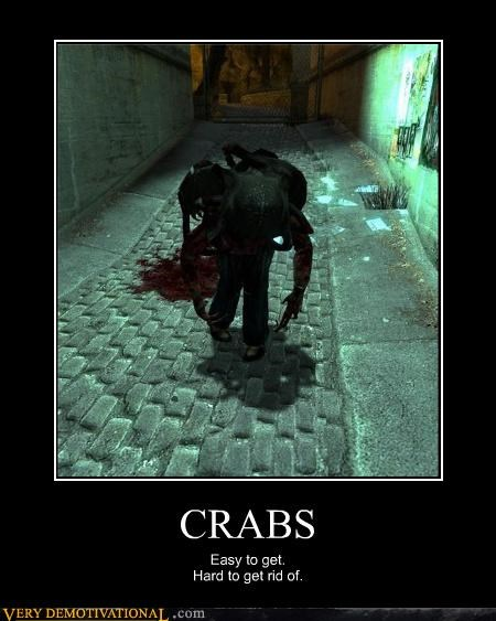crabs,STDs,video games