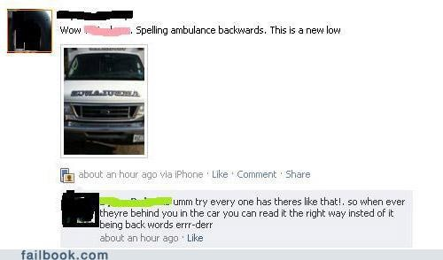 ambulance,derp,facepalm