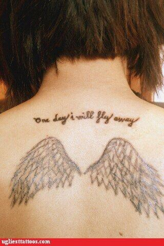 wtf wings tattoos funny - 4563839232