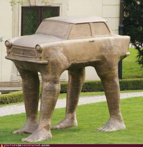 art,cars,feet,statue,wtf