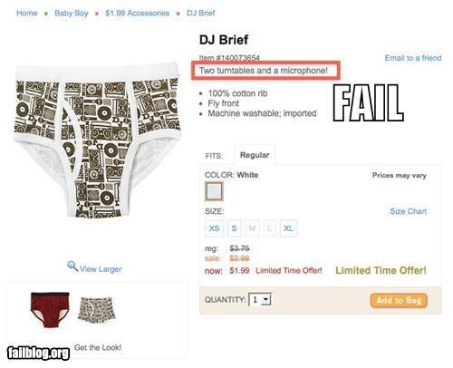description failboat inappropriate online shopping underwear - 4564225536