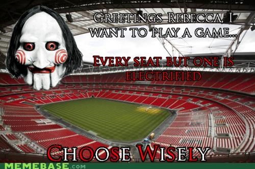 choose wisely FRIDAY fri-eee-day play a game rebecca saw - 4564518144