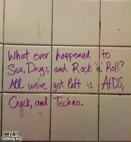 Bathroom Graffiti hacked rock-roll sharpie - 4564920576