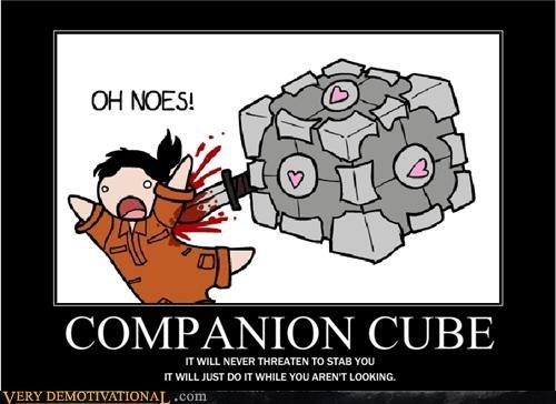 companion cube Portal chell - 4565000192