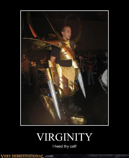 virgin costume fantasy awesome
