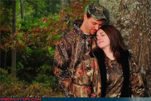 camouflage wedding funny wedding photos hunting photography - 4565218816