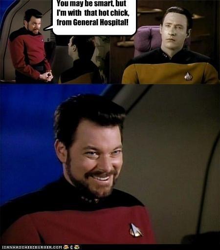 actor brent spiner celeb funny Jonathan Frakes sci fi Star Trek - 4565256704