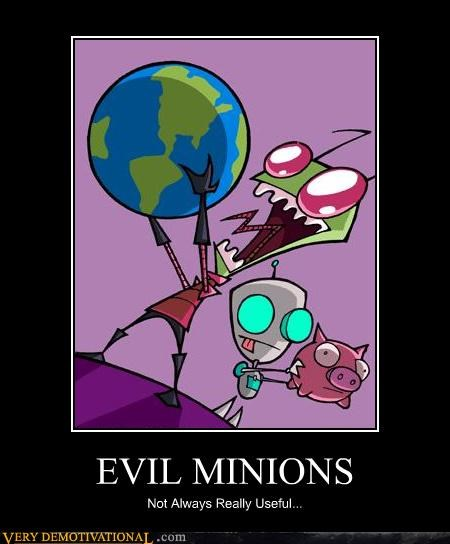 EVIL MINIONS Not Always Really Useful...