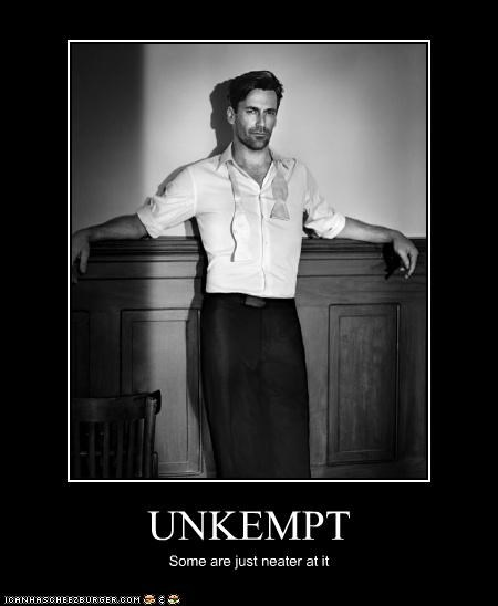 actor celeb demotivational funny Hall of Fame Jon Hamm sexy - 4565292544