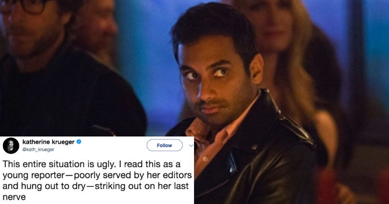 Brutal email from Babe.net writer who penned exposé on Aziz Ansari goes viral instantly.