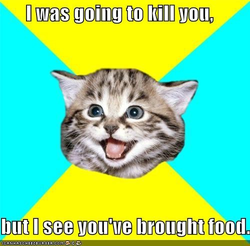 food,Happy Kitten,stay of execution