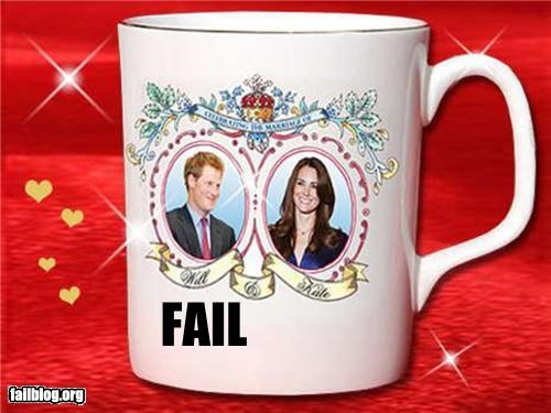 cups,embarrassing,failboat,marriages,merchandise,photos,poor planning,princes