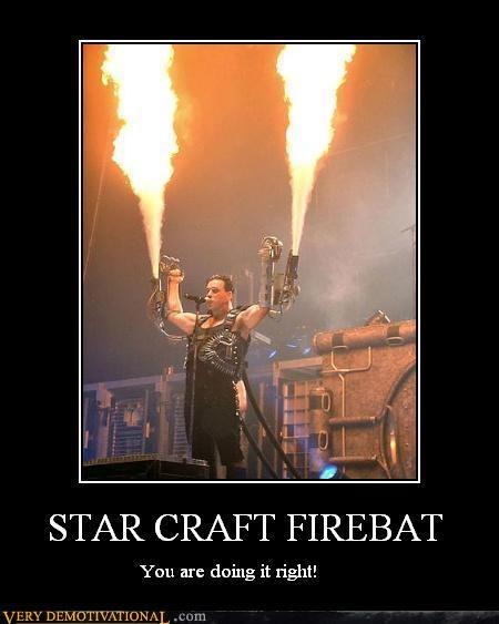 starcraft firebat rammstein doing it right