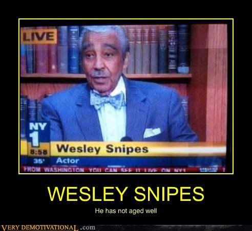 WESLEY SNIPES He has not aged well