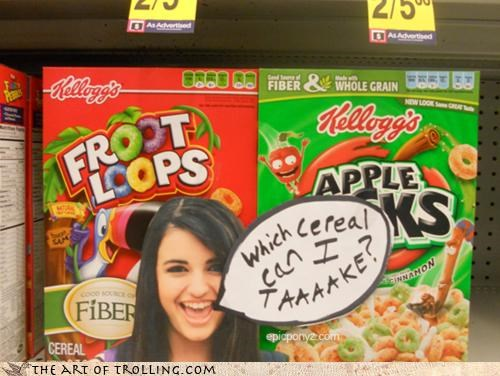 apple-jacks-dont-taste-like-apple bowl cereal FRIDAY gotta have my troll IRL Rebecca Black