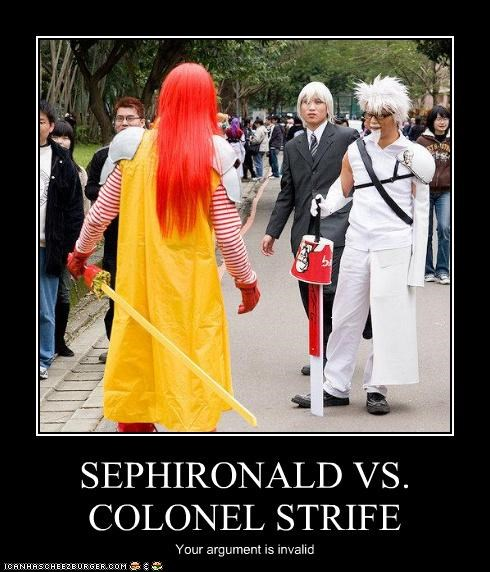 SEPHIRONALD VS. COLONEL STRIFE Your argument is invalid
