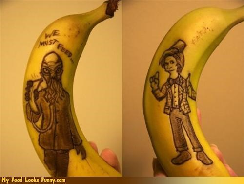 banana drawing fruit peel sketch - 4567302912