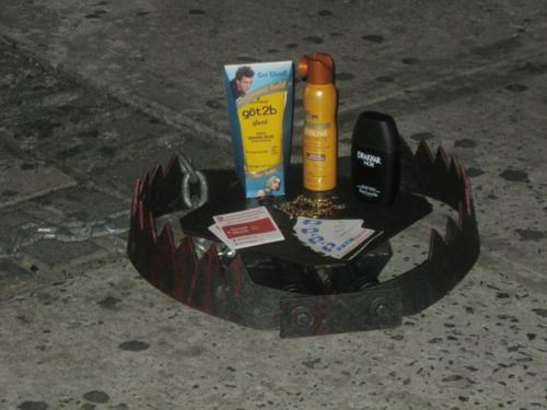 Bridge and Tunnel Trap Hipster Trap Street Art Urban Trap - 4567358720