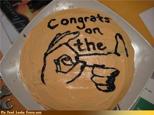 bangin,cake,congrats,fingers