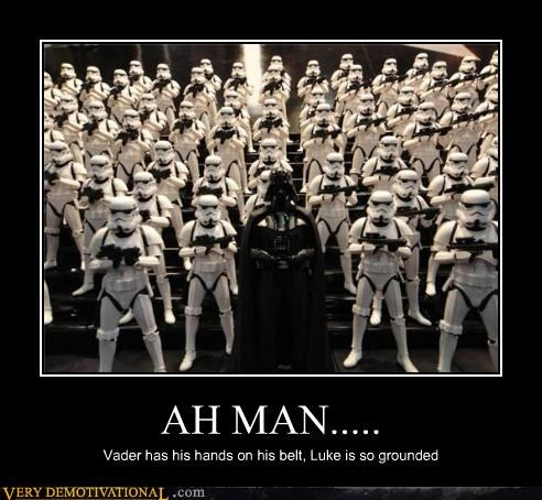 Father,son,darth vader,luke skywalker,star wars,grounded