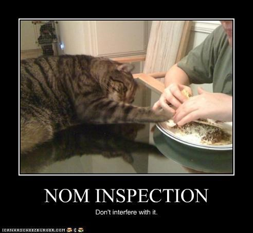NOM INSPECTION Don't interfere with it.