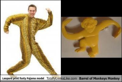 barrel of monkeys footy pajamas model monkeys pajamas toys - 4569418496