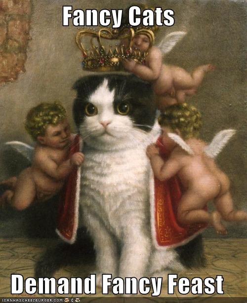 animal art cat funny historic lols painting royalty - 4570724864