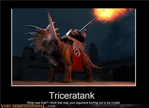 dinosaur Invalid Argument nazi triceratank - 4571475200